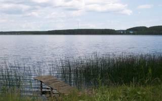 Анбаш озеро — место для рыбака