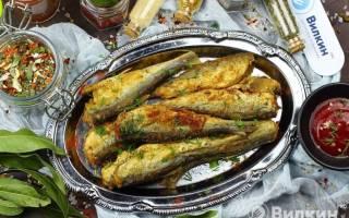 Салака-гриль — рыбные рецепты