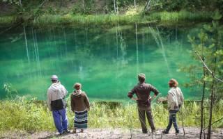 Семицветное озеро — место для рыбака