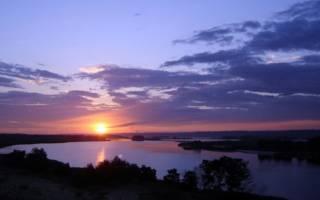 Айгульское озеро — место для рыбака
