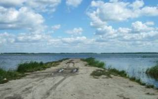 Бектыш озеро — место для рыбака