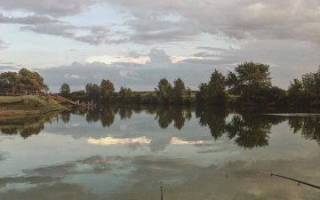Рыбница (Орловская область) — место для рыбака