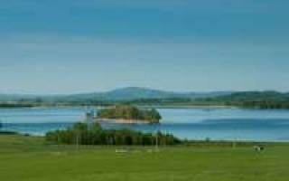 Озеро Аушкуль — место для рыбака