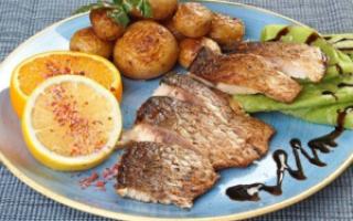 Амур запечённый — рыбные рецепты