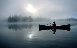 Отнога озеро — место для рыбака
