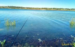 Тайганское водохранилище — место для рыбака