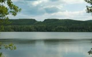 Айское водохранилище — место для рыбака