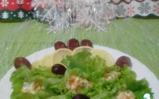 Салат из угря и раков — рыбные рецепты