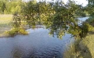 Малый Кизил — место для рыбака