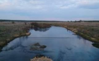 Теча — место для рыбака