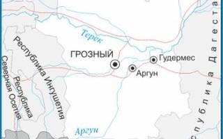 Аксай (Чечня) — место для рыбака