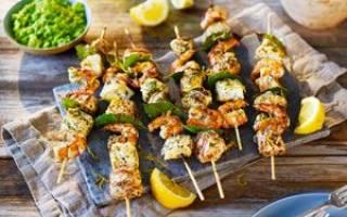Шашлык из стерляди — рыбные рецепты
