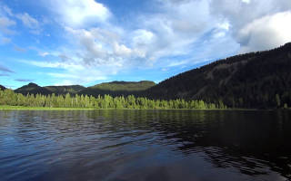 Садринское озеро — место для рыбака