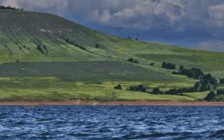 Верятское водохранилище — место для рыбака
