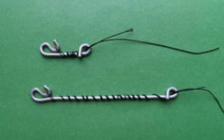 Безузловая застежка для плетенки, изготавливаем своими руками