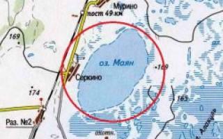 Маян озеро — место для рыбака