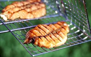 Белый амур на гриле со сладким соусом — рыбные рецепты
