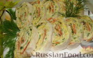 Рыба в лаваше с тархуном — рыбные рецепты