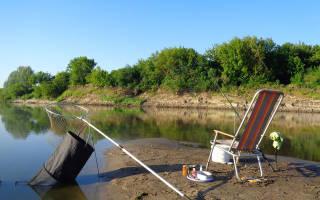 Красноярское водохранилище — место для рыбака