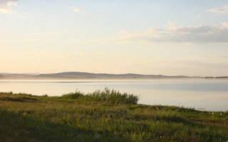 Озеро Атавды — место для рыбака