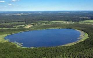 Инерка озеро — место для рыбака