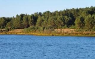 Большой Суховяз — место для рыбака