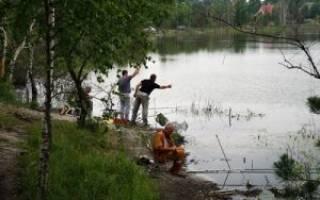 Сальковское озеро — место для рыбака