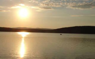 Тиренкуль озеро — место для рыбака