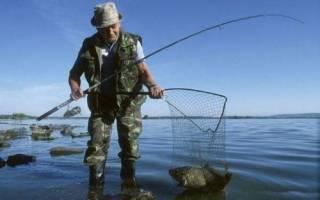 Исеть — место для рыбака