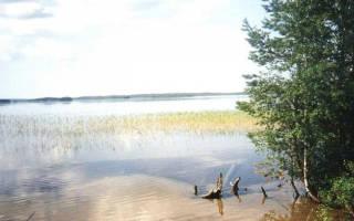 Елмозеро — место для рыбака
