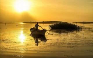Святец озеро — место для рыбака