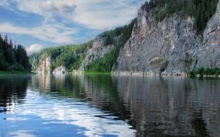 Берёзовая (Пермский край) — место для рыбака