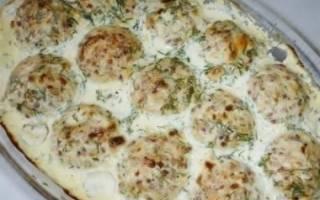 Тефтели в сырном соусе — рыбные рецепты