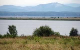 Ирдяги Малые озеро — место для рыбака