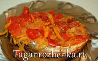 Лосось тушёный — рыбные рецепты