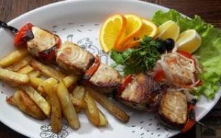Стерлядь на мангале — рыбные рецепты