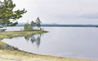 Озеро Гирвас — место для рыбака