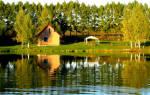База отдыха «Золотой сазан» — платные водоемы