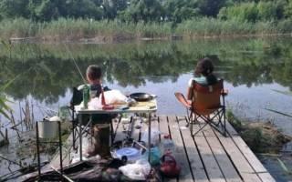 Круглое озеро (Краснодарский край) — место для рыбака