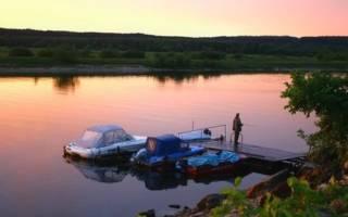 Татьянка — место для рыбака